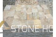 Оразмерени елементи Розови - естествен камък Гнайс