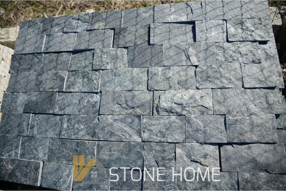 Оразмерени елементи Зелени - естествен камък Гнайс