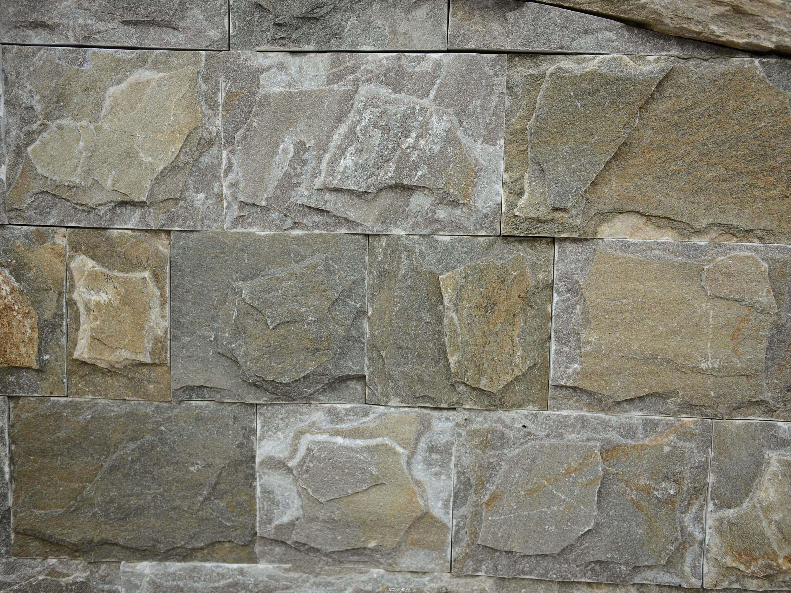 Оразмерени елементи - ГЛИЦ Оформени Хамелеон - естествен камък Гнайс