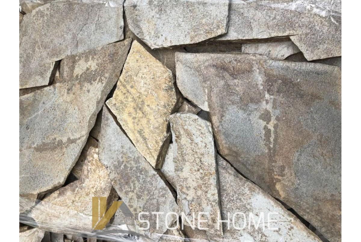 Многоъгълни плочи Неоформени Арабско - естествен камък Гнайс