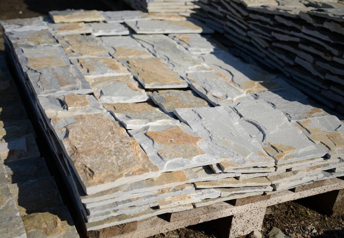 Dimensioned Elements GLIZ Formed Greek - natural stone Gneiss