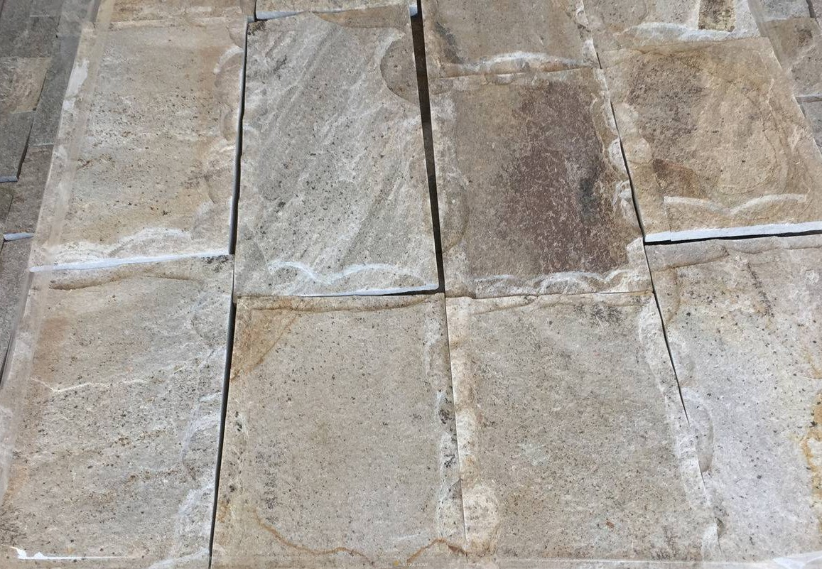 Dimensioned Elements GLIZ Formed Beige - natural stone Gneiss