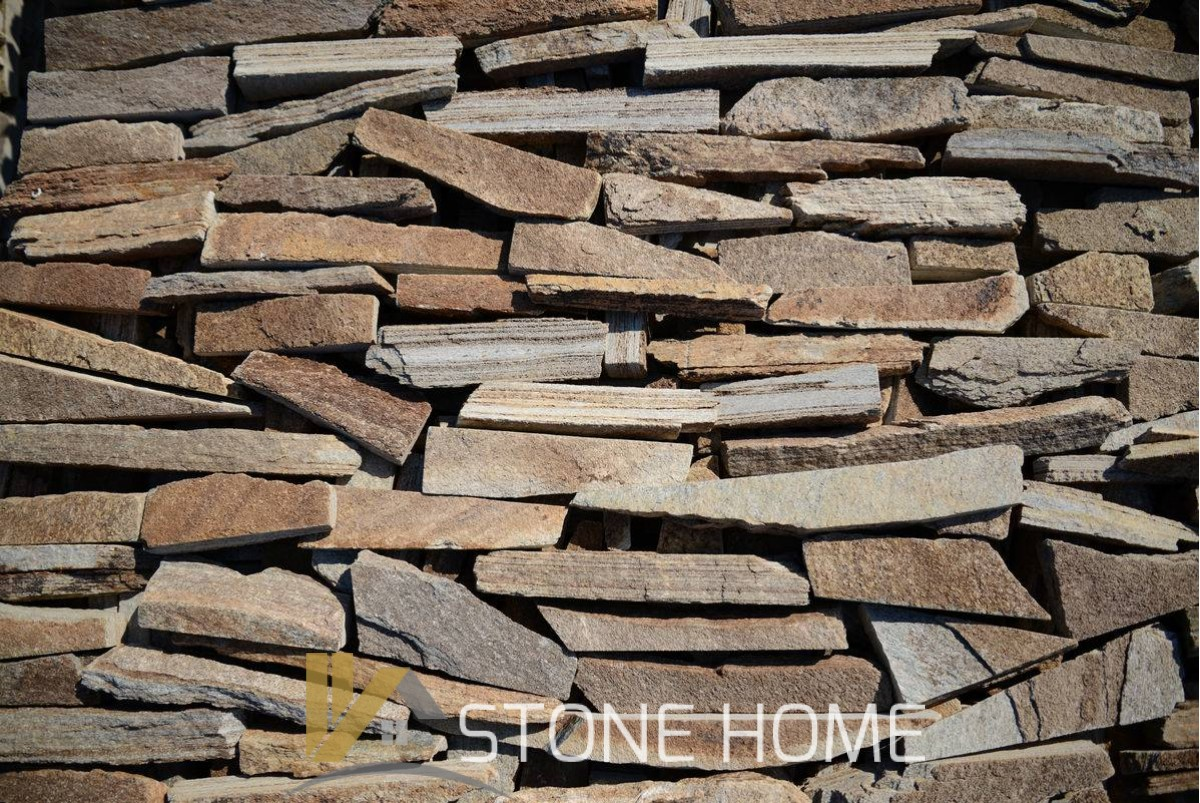 Cuttings Unformed Brown - natural stone Gneiss