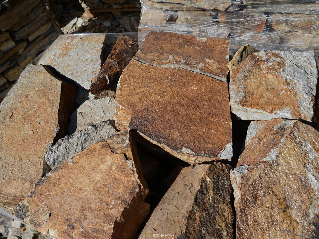 Building stone Unformed - natural stone Gneiss