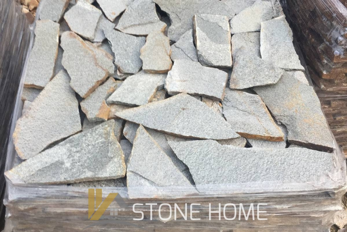 Facing Unformed Metallic - natural stone Gneiss