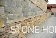 Cuttings Unformed Dark yellow - natural stone Gneiss