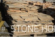 Polygonal plates Unformed Stara Zagora stone - natural stone Gneiss