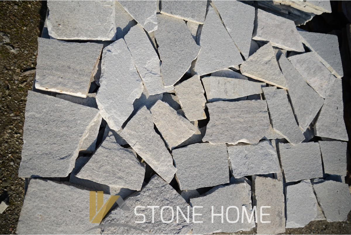 Facing Unformed Gray - natural stone Gneiss