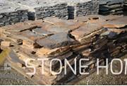 Настилка Неоформена Сив Металик - естествен камък Гнайс